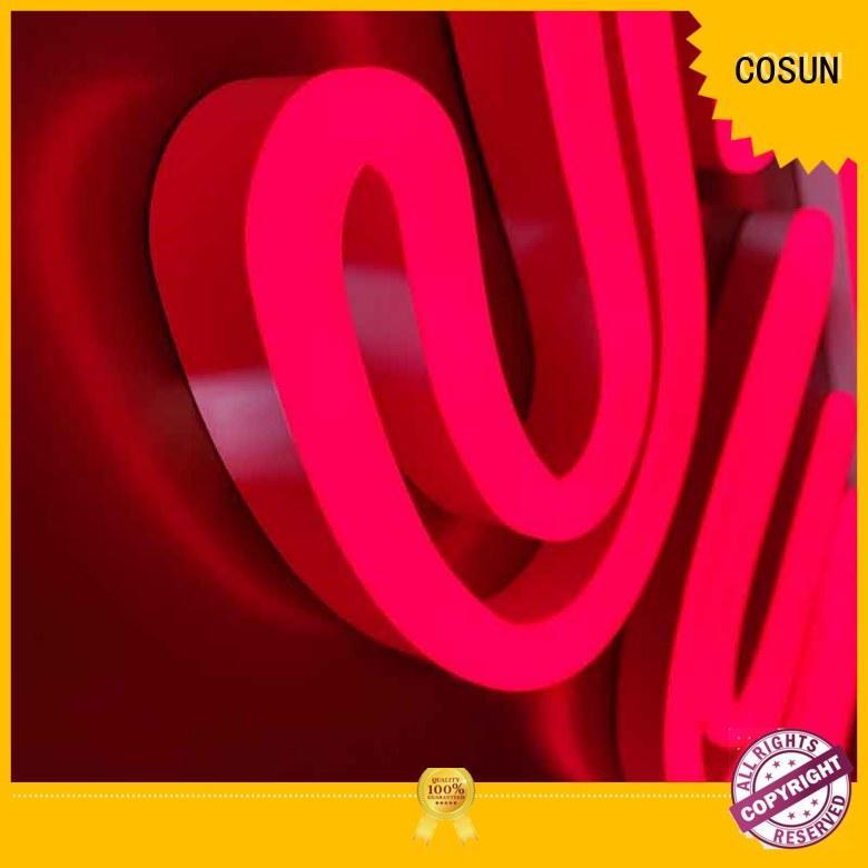 COSUN Top buy neon signs online Suppliers