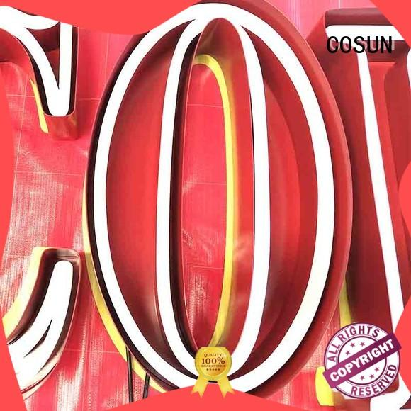 COSUN popular where can i get a neon sign made company check now