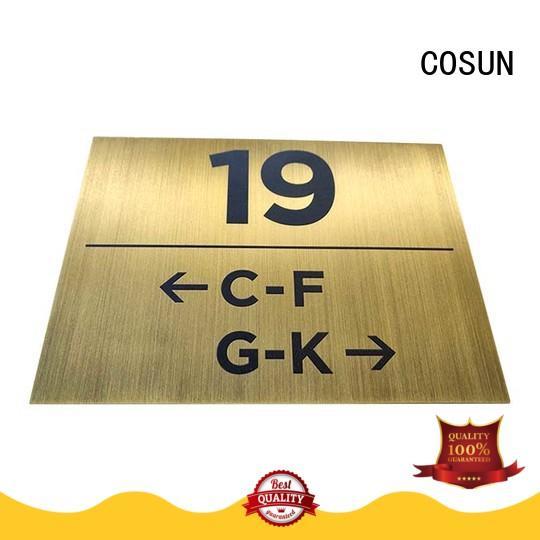 COSUN restroom door sign buy now for door