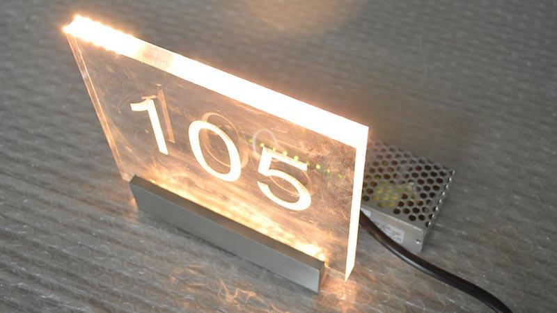 COSUN logo custom aluminum door signs company for bar-2