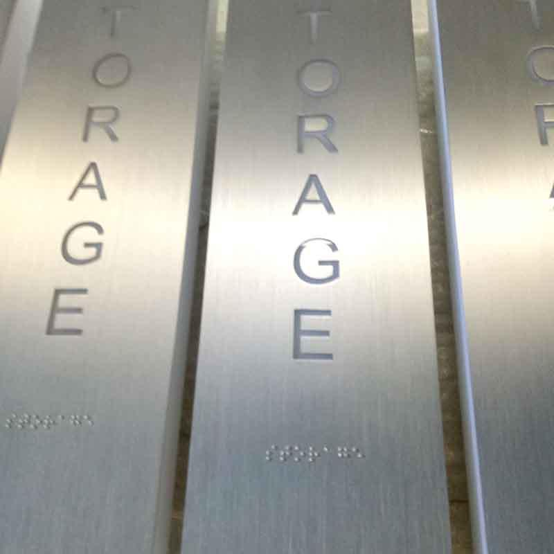 Cosun Brushed Surface Led House Numbers