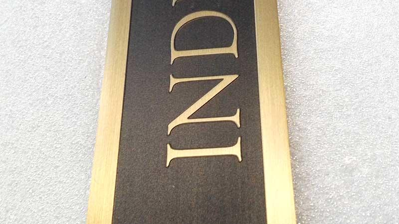 COSUN logo custom custom door plate Supply for hotel