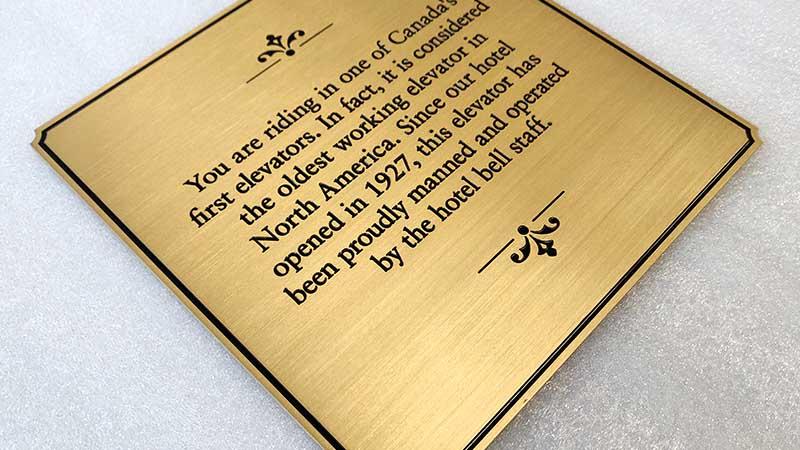 COSUN Top metal door plaques for business for door-2