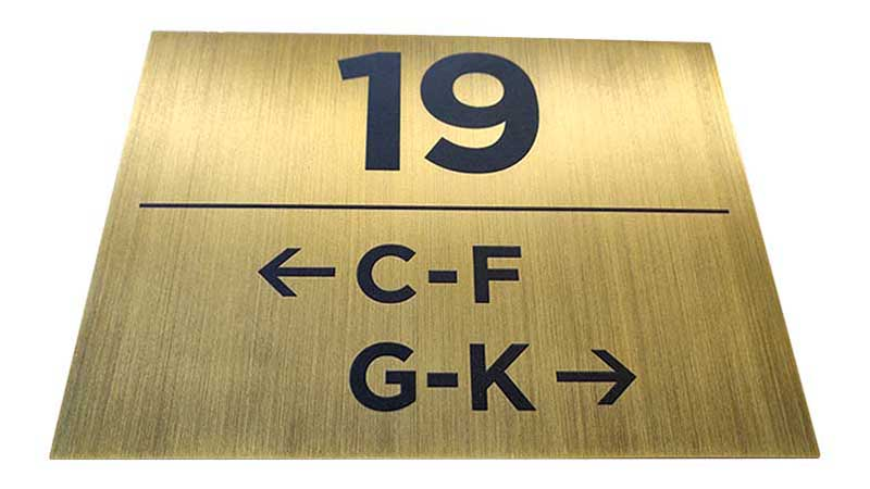 COSUN Custom door sign hotel manufacturers for door-8