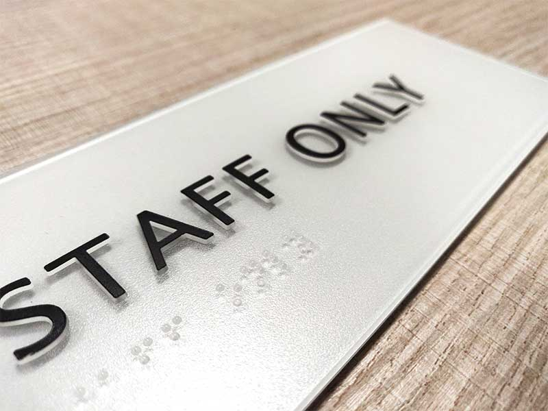 Latest outdoor door signs etched manufacturers for shop-1