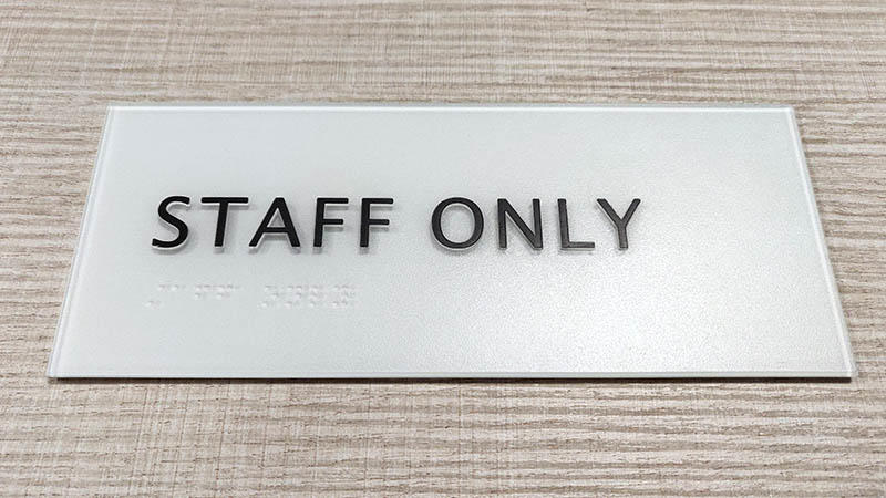 graphic designs bathroom door sign laser cutting for warning