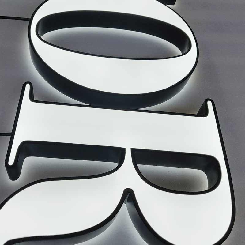 3D Plastic Acrylic Letter 30Mm Waterpoof Custom-Made Design