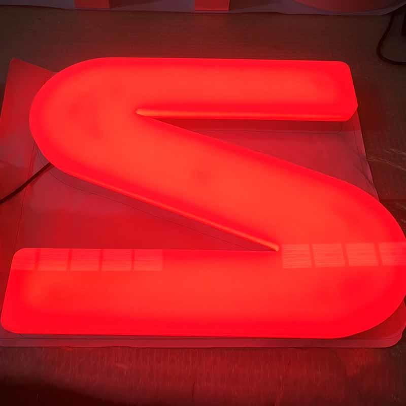 Personalized Led Sign Acrylic Base Best Price 25Mm Ul Certified