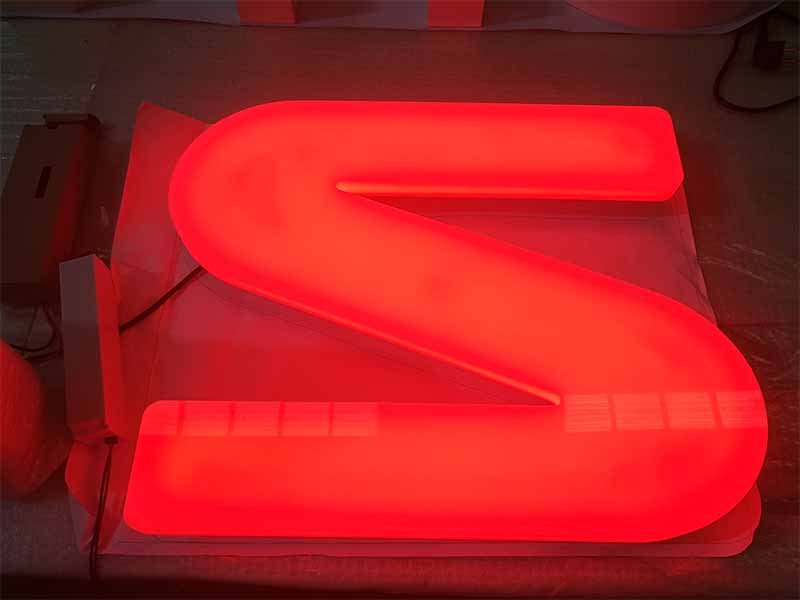 Latest pvc signs led base factory for restaurant-1