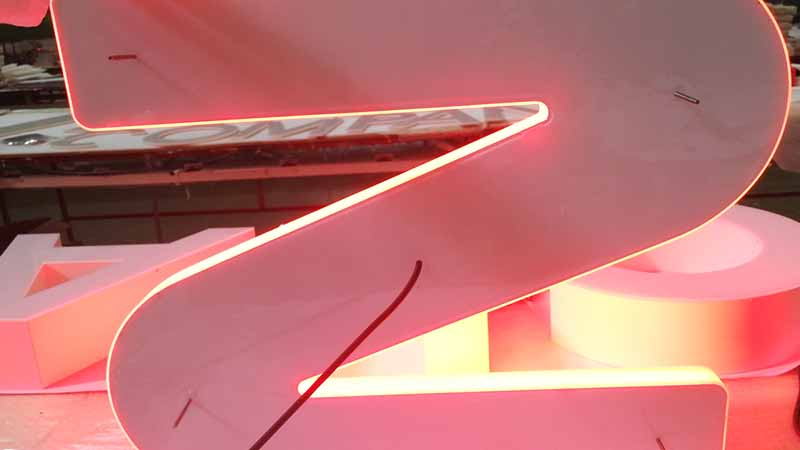 Latest pvc signs led base factory for restaurant-2