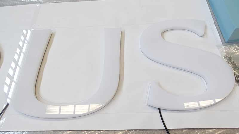 COSUN high-quality acrylic sign panels on-sale for restaurant