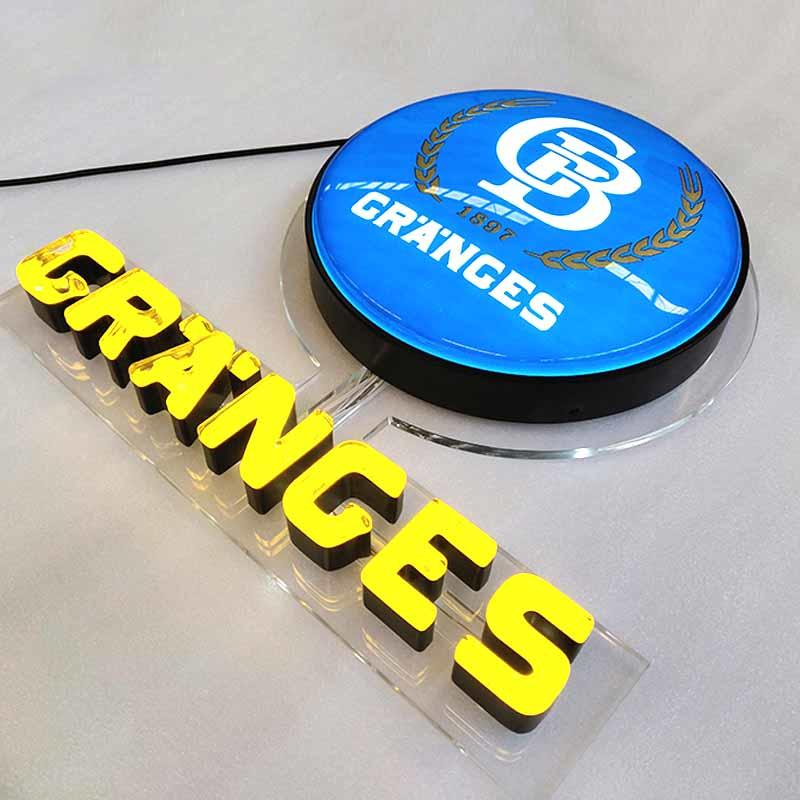 Wholesale Price ODM Available Neon Sign Parts With Light Box