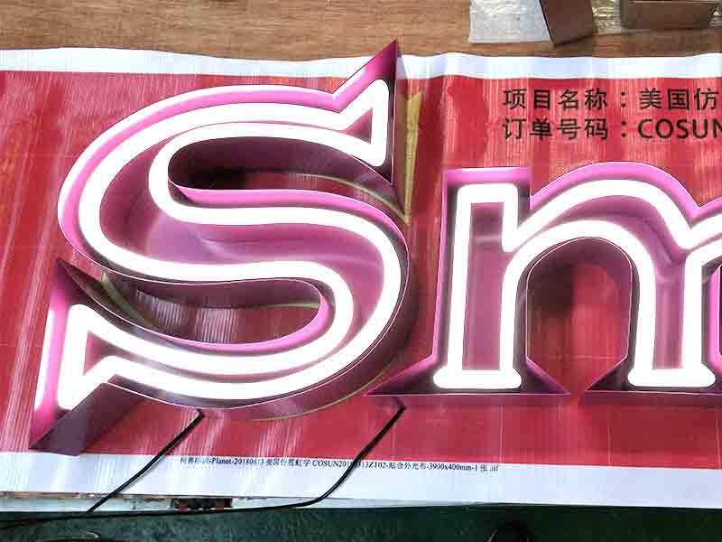 COSUN eye-catching indoor signage Supply for promoting-1