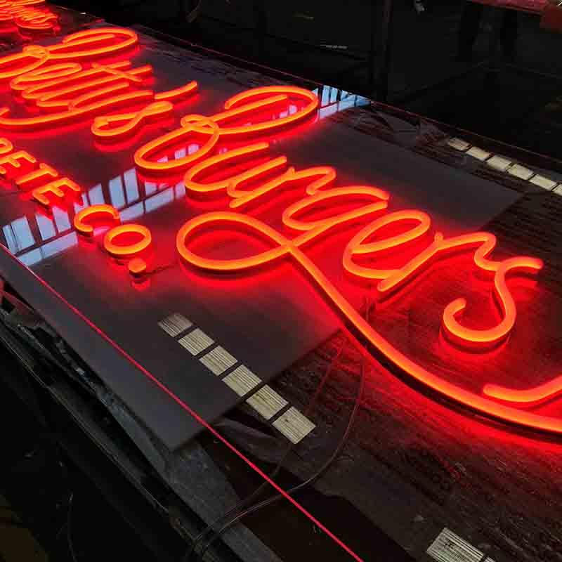 Latest Innovative Large Capacity Tattoo Neon Signs for Indoor Usage