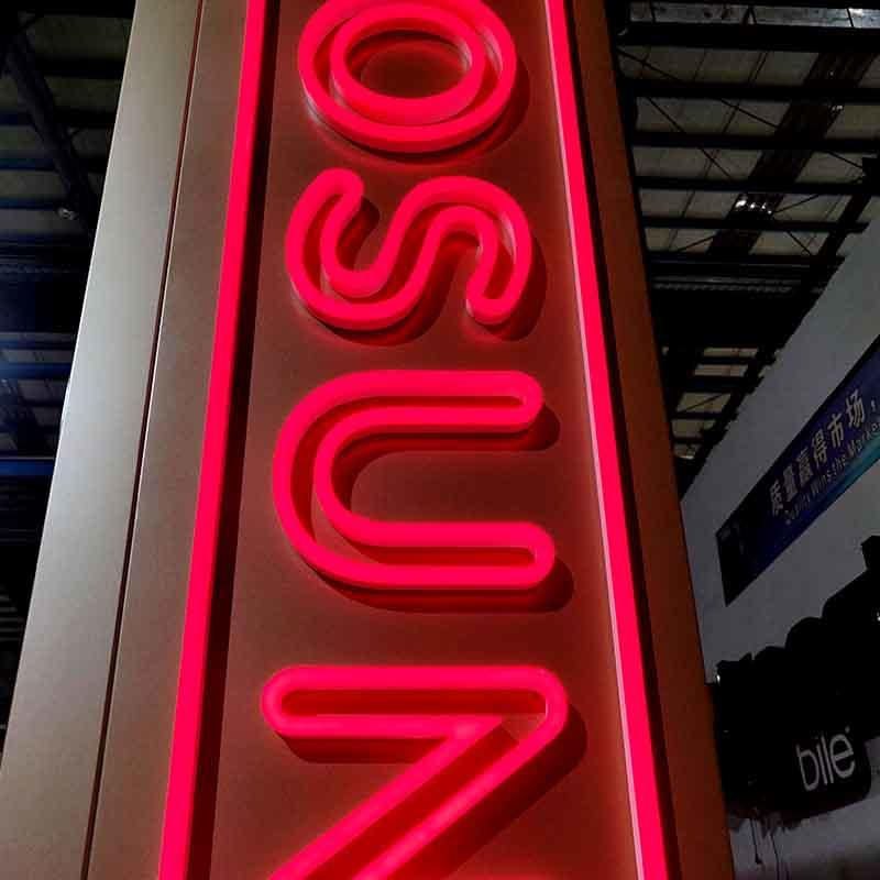 Factory Price Waterpoof Customized Shape Live Nudes Neon Sign