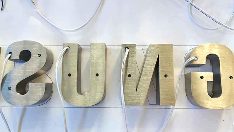 white personalized signs new design COSUN
