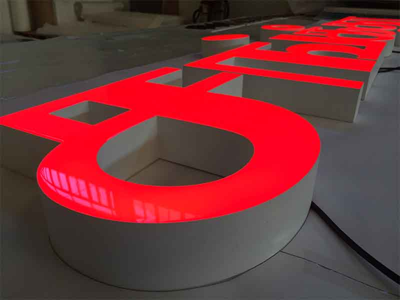 COSUN red resin sign factory for promoting-1