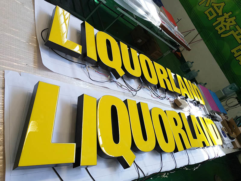 2017-Liquorland Chain Shop Sign Project