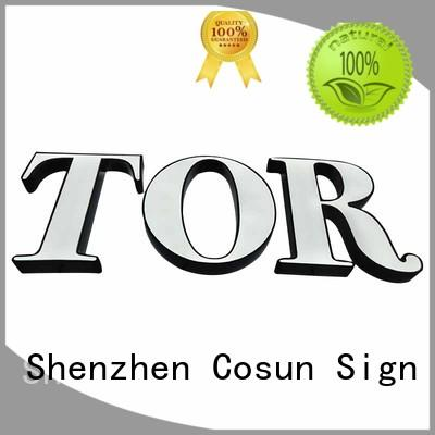 Custom mini sign stands competitive price for business for restaurant