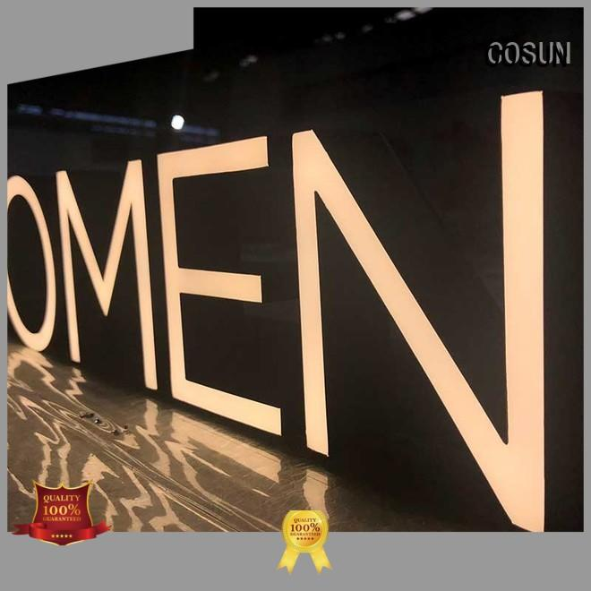 COSUN Top resin house signs for business for decoration