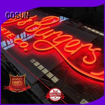 popular led neon signage wholesale for decoration COSUN