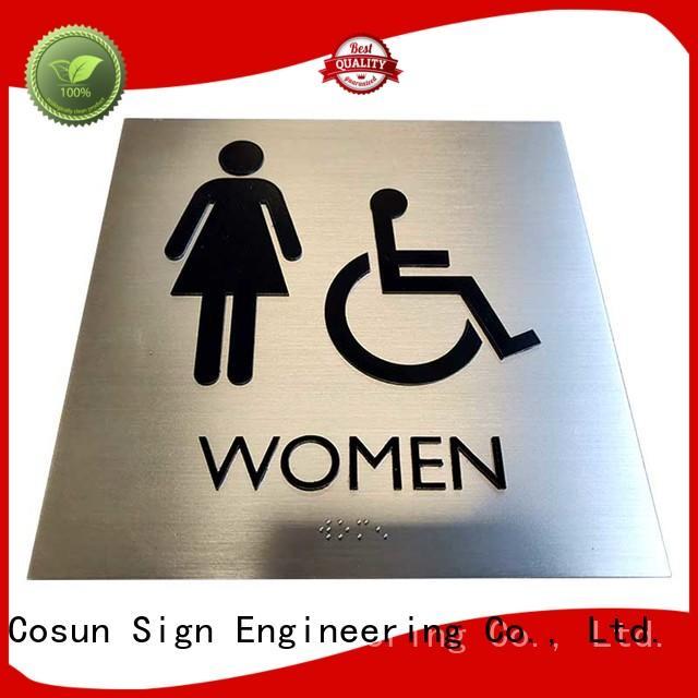 COSUN quality custom door signs buy for