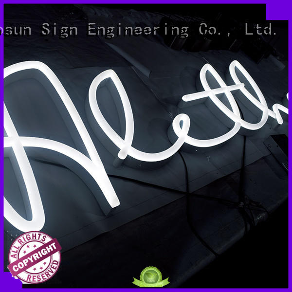 direct manufacturer neon sign letter by bulk for house COSUN