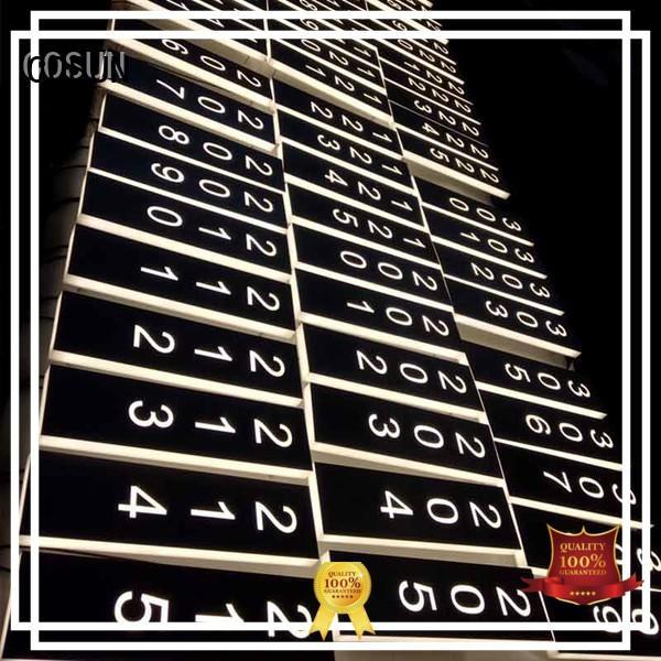 hotel hotel door signage now interior COSUN