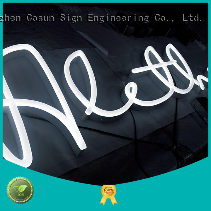 neon beer sign innovative for COSUN