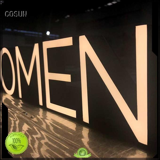 Custom resin sign logo Suppliers for decoration