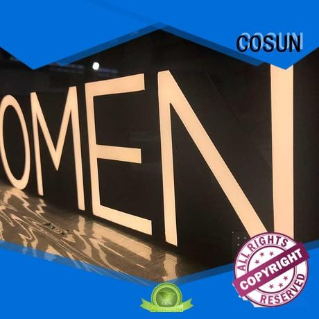COSUN ODM signage design hot-sale buy now