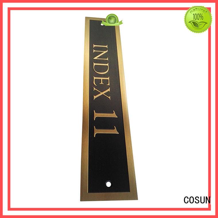 best custom metal door signs for bar