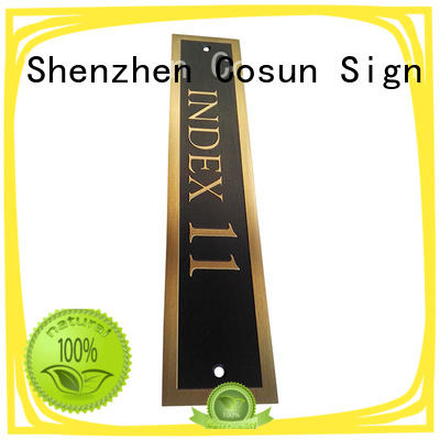 COSUN all size i do door sign manufacturers for shop