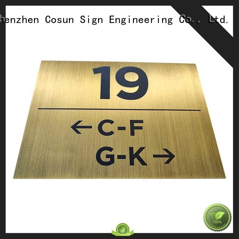door signs for home plate for COSUN