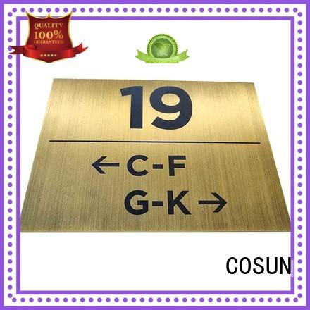 COSUN painted office door signs printable Suppliers house decoration