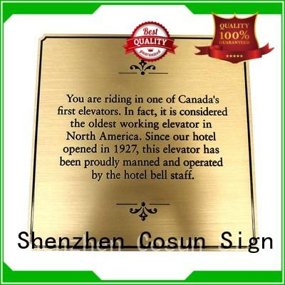 cnc custom made house signs buy interior COSUN