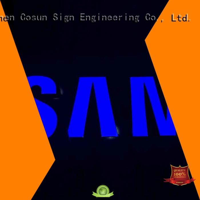 COSUN Custom resin house signs Supply for promotion