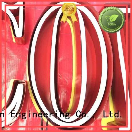 COSUN eye-catching custom tube light signs factory for decoration