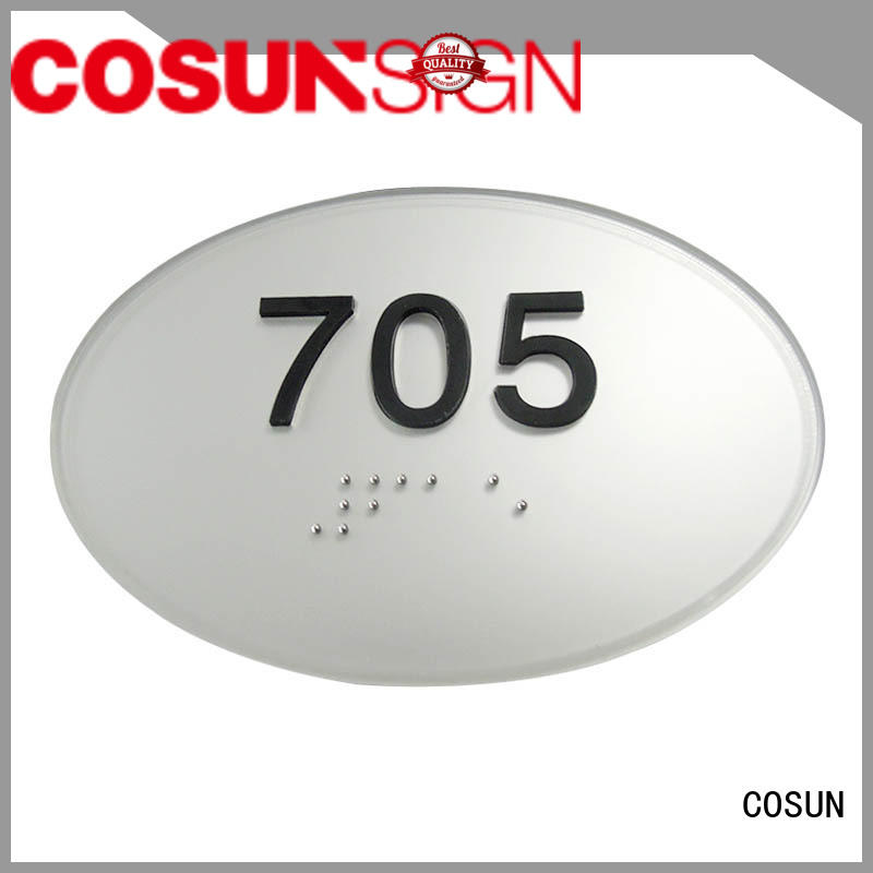 High-quality sign on a door logo custom Supply for bar