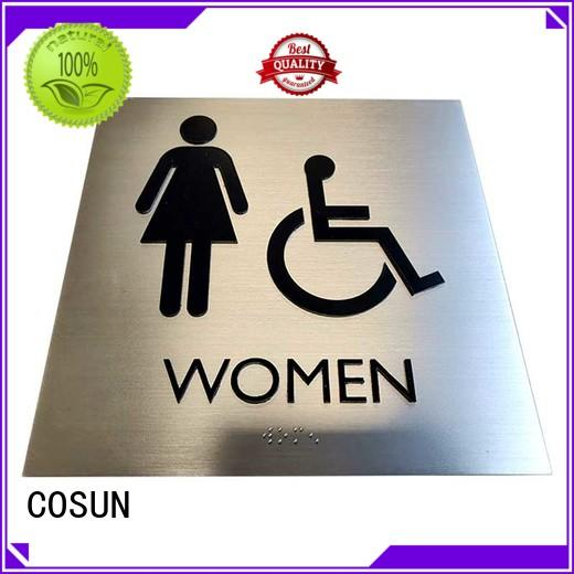 painted hotel room door sign all size for bar COSUN