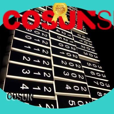 COSUN all size glass office signs for business for decoration
