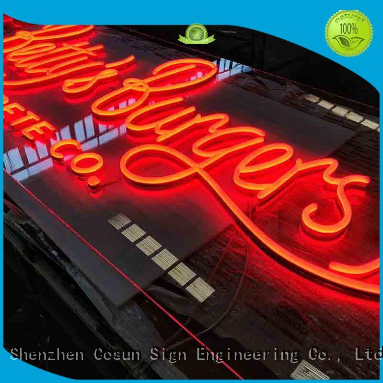 signs custom made neon signs now decoration COSUN