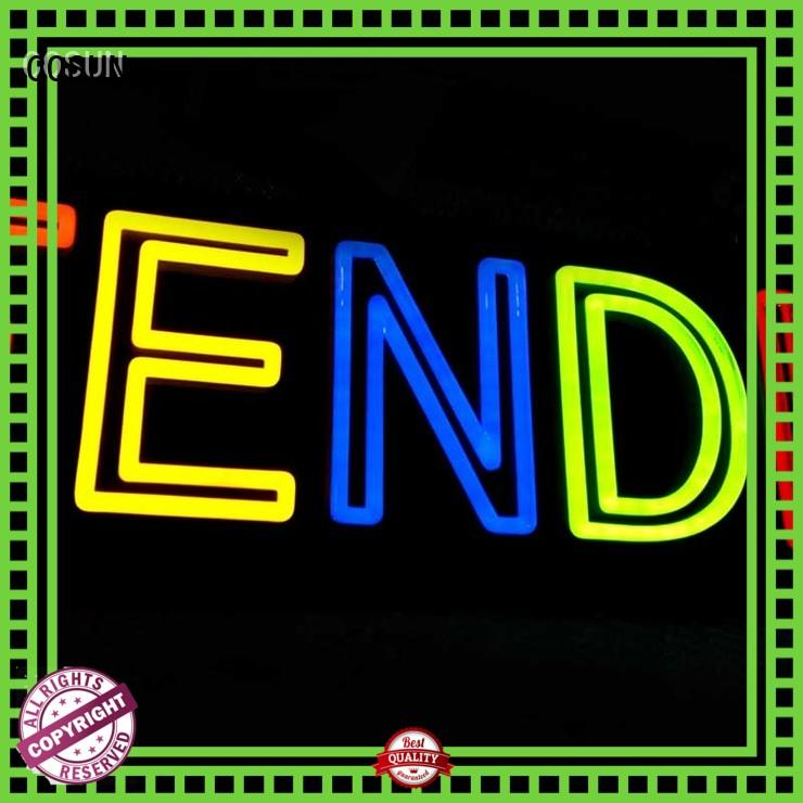 COSUN Latest custom neon signs online Suppliers for house