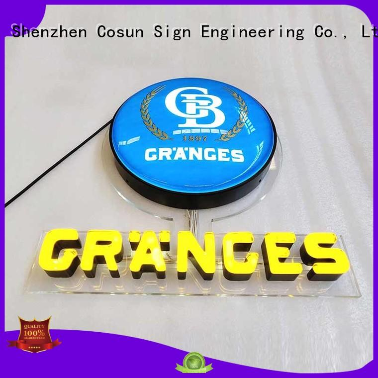COSUN direct manufacturer custom led neon sign on-sale for hotel