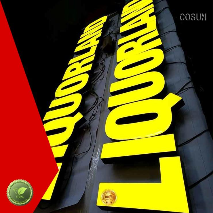 COSUN at discount epoxy resin signage epoxy for room