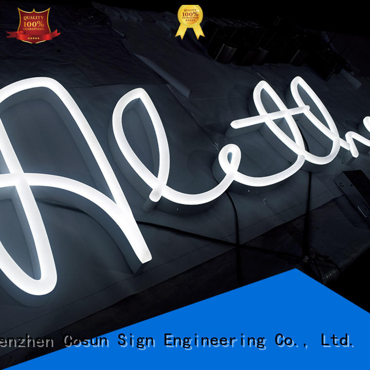 COSUN Wholesale custom neon signs online for business for promotion