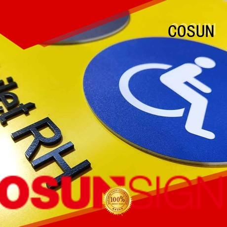 cosun sliding door sign now shop COSUN