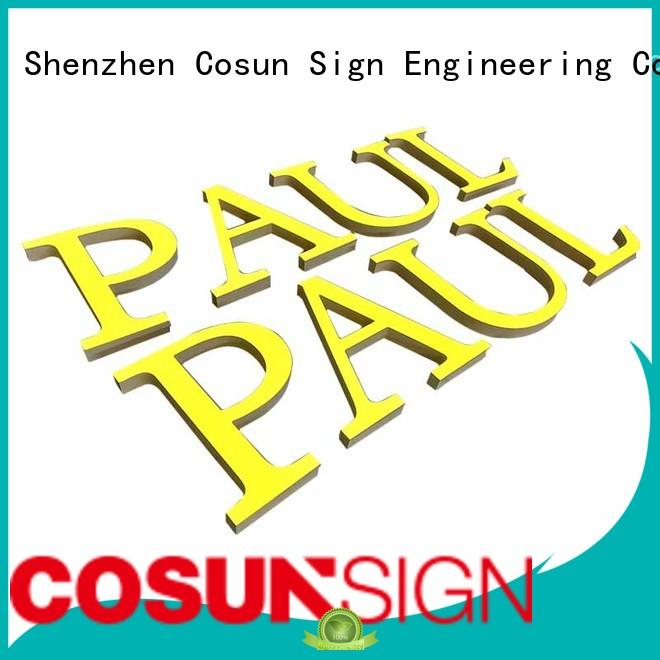 COSUN High-quality 11x17 plastic sign holder factory for shop