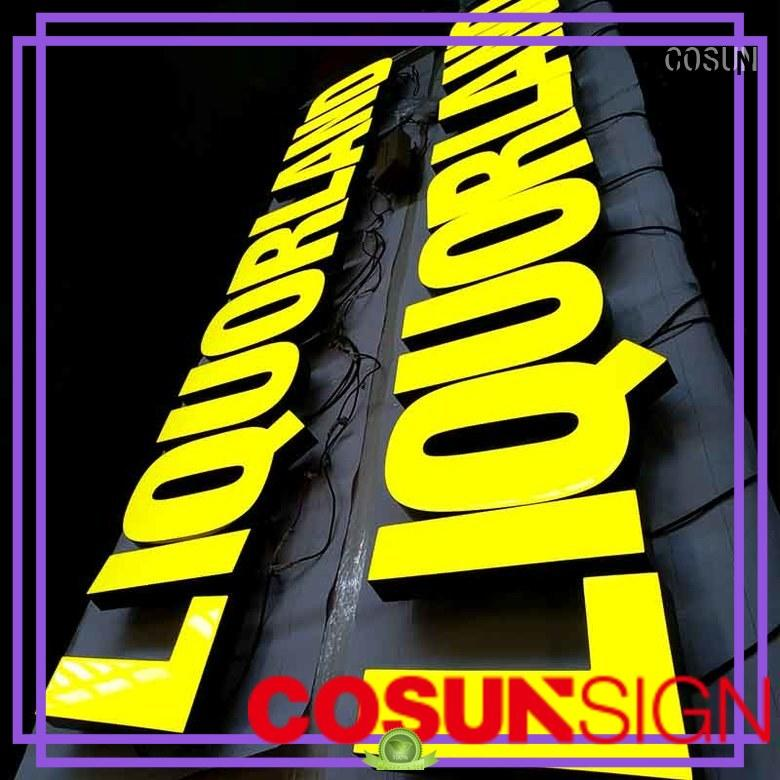 COSUN color sign design top brand for decoration