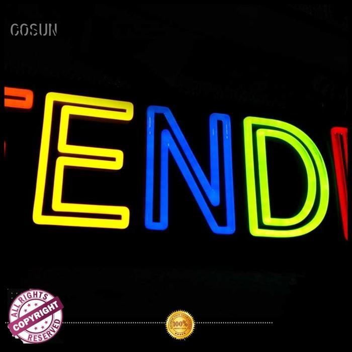 COSUN Custom enjoy neon sign company for promotion